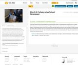 ELA 1-8: Collaborative School Newspaper