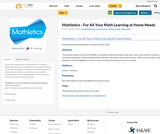 Mathletics - For All Your Math Learning at Home Needs