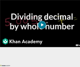 Arithmetic Operations: Dividing Decimals 3
