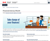 Financial Literacy Month - Government of Canada