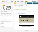 DLC ELA6: Unit 5 - Personal Responses
