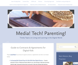 Guide to Contracts & Agreements for Digital Kids – Media! Tech! Parenting!