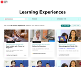 Canada Learning Code: Learning Experiences