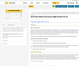2019 Sun West Character High School 10-12