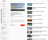 Elementary maths for kindergarten kids Video Playlist