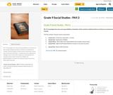 Grade 9 Social Studies - PA9.3