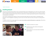 Argumentative or Persuasive Essay Writing Tool from Drafting Board iCivics