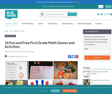16 Fun and Free First Grade Math Games and Activities