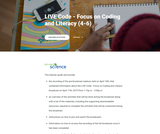 LIVE Code - Focus on Coding and Literacy (4-6)