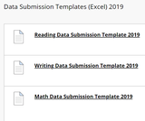 Saskatchewan Ministry of Education Data Submission Templates