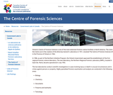 The Centre of Forensic Sciences