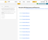 Narrative Writing Lessons and Resources