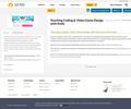 Teaching Coding & Video Game Design with Kodu