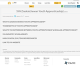 SYA (Saskatchewan Youth Apprenticeship)