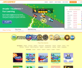 Arcademics - Math Games, Language Arts Games, and much more