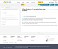 Khan Academy Personalized Learning Activity