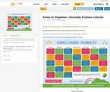 Action for Happiness - December Kindness Calendar