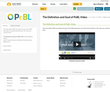 The Definition and Goal of PeBL Video