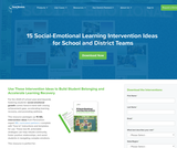 15 Social-Emotional Learning Interventions
