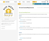 On Line Counselling Courses