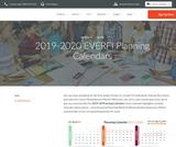 2019-2020 EVERFI Planning Calendars