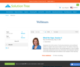 Mind the Gaps, Mind the Gaps Webinar Series from Solution Tree