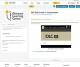 DLC ELA3: Unit 3 - Contractions