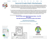 Second Grade Math Worksheets - Free Printable Math PDFs