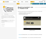 Blended Learning Math 2 - Unit 1.1 - Numbers to 100