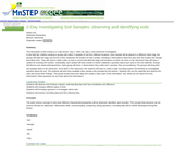 2-Day Investigation of Soil Samples