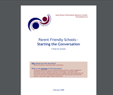 Parent Friendly Schools— Starting the Conversation - 5 Tools for Schools