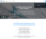 Kialo - The tool to teach critical thinking and rational debate
