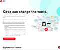 Code can change the world.