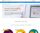 STEM lesson plans & hands-on activities from Microsoft