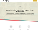 Decreasing Anxiety and Increasing Empathy with Dr. Michele Borba - Webinar CharacterStrong