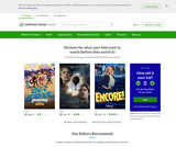 Common Sense Media: Age-Based Media Reviews for Families