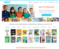 epic! Unlimited Access to the Best Books and Learning Videos For Kids 12 and Under