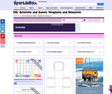 Activities and Games Templates Printables for Primary School