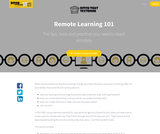 Remote Learning 101 - from Ditch That Textbook (Matt Miller)