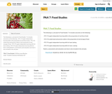 PAA 7: Food Studies