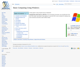 Basic Computing Using Windows