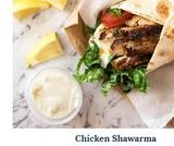 Chicken Shawarma Recipe (Middle Eastern)