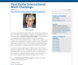 Great Math Problem Solving Questions - Paul Erdős International Math Challenge