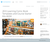 20 E-Learning Comic Book Templates and Course Starter Kits #204