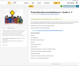 Treaty Education Learning Resource - Grades 1 - 9