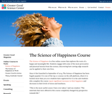 The Science of Happiness Course - free online course!