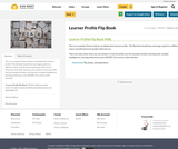 Learner Profile Flip Book