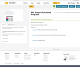 EAL Support Purchased Programs