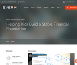 Financial Basics for Kids: Vault from Everfi