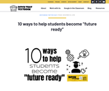 "10 ways to help students become ""future ready"""
